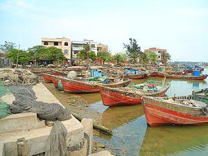 Xinbu Island - A small harbour on the east coast.