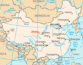 Xining location.png