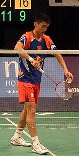 Xue Song (badminton) Badminton player