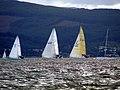 Yacht race off Inverkip - geograph.org.uk - 2602286.jpg