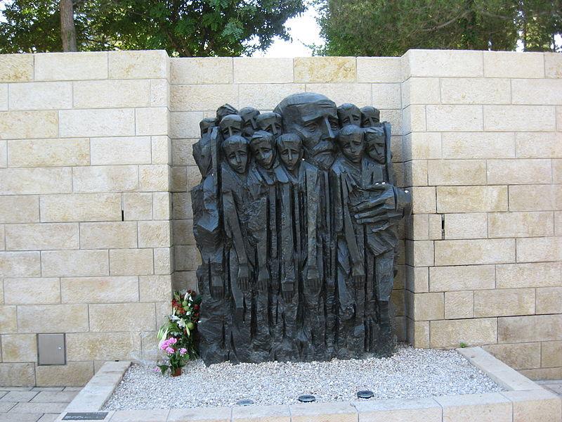 Datei:Yad Vashem - Janus Korczak Gedenkplatz.jpg