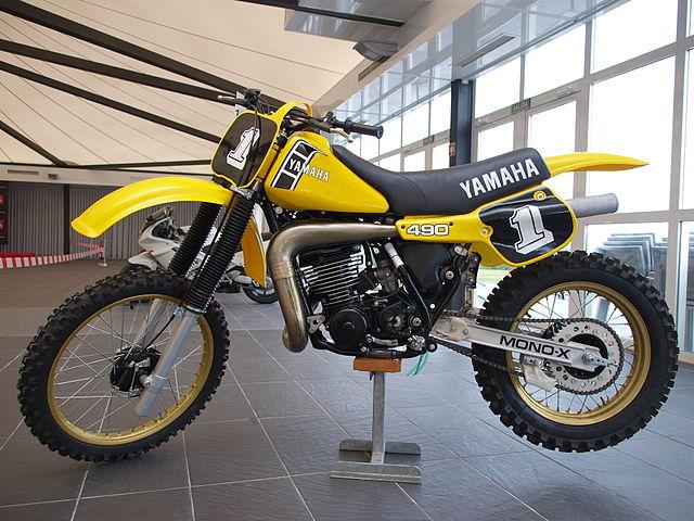 Yamaha Yz Fuel Tank