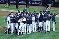 Yankees celebrate ALDS Game 5 victory 10-12-12 (8).jpeg