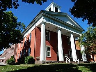 Yates County, New York - Image: Yates County Courthouse, Penn Yan NY 02