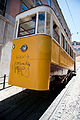 Yellow Funicular in Lisbon.jpg