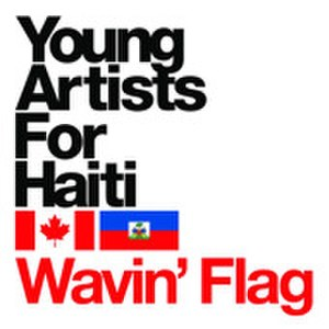 Wavin' Flag - Image: Young Artists for Haiti logo