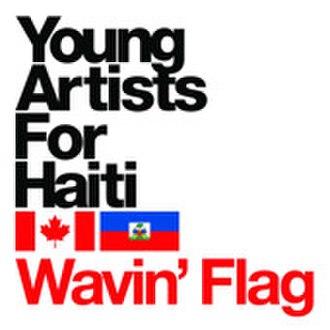 Wavin' Flag - Image: Young Artists for Haiti logo