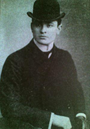 Grigol Robakidze - Image: Young Grigol Robakidze