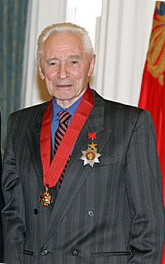 Yury Grigorovich - Yury Grigorovich after receiving the Order of Merit for the Fatherland award in 2007.