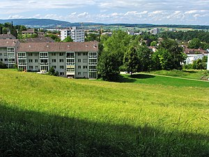 Affoltern (Zürich) - Affoltern as seen from Käferberg