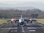 ZE708 British Aerospace BAe 146 (31588199381).jpg