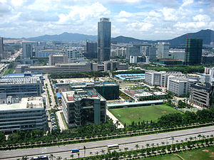 ZTE - ZTE corporate campus in Shenzhen, Guangdong