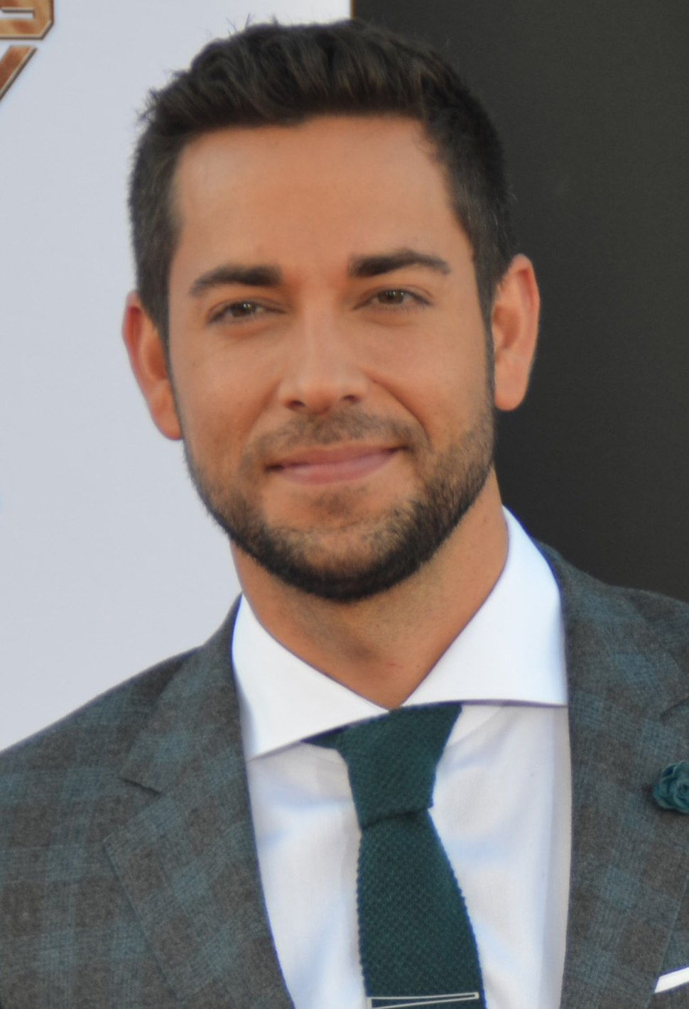 Zachary Levi - Guardians of the Galaxy premiere - July 2014 (cropped)