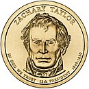 Zachary Taylor – Dollar