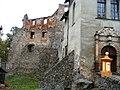 Zagórze Śląskie, Zamek Grodno , 1 poł. XIV, XV, 2 poł. XVI, 1868-69, 1904 - wejscie gówne a.JPG