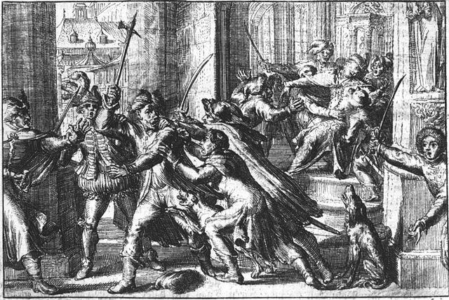 > Attentat raté contre Zygmunt III devant la cathédrâle Saint Jean.