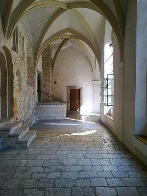 Tyniec - Benedictine Abbey cloisters