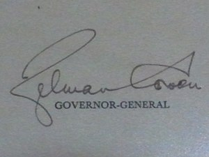Zelman Cowen - Image: Zelman Cowen Signature GG