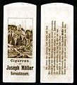 Zigarrentüte Burg Herrenzimmern c1910.jpg