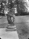 zittende leeuw met wapen van rotterdam - ridderkerk - 20037343 - rce