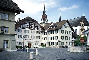 Zofingen - Image: Zofingen Thut Platz