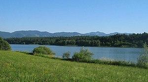 Lake Žovnek - Image: Zovnesko Jezero 1