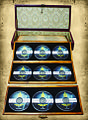 'Mongolian Statehood Long Song' of 9 long songs, each on 1 audio CD encased in wooden box Author Dorjdagva Myagmarsuren.jpg