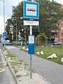 'Vas Gereben utca' bus stop, 2018 Győr.jpg