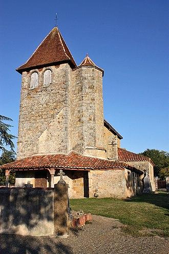Arblade-le-Haut - Image: Église Saint Luperc de Loissan (32110 Arblade Le haut)