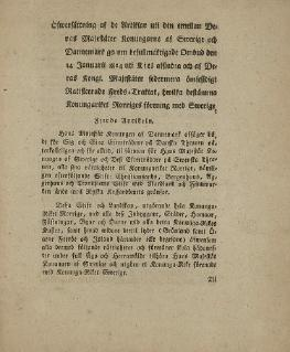 Treaty of Kiel 1814 peace treaty between the UK plus Sweden, and Denmark–Norway