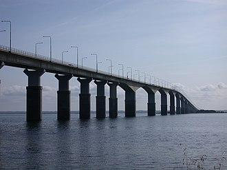 Öland Bridge - Image: Ölandsbron