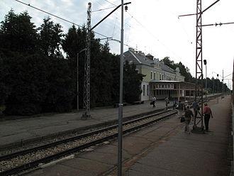 Ķemeri - Ķemeri, train station