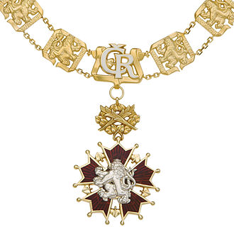 Order of the White Lion - First Class Star of the Order of the White Lion
