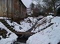 Řevnice, Moklický potok, V Potočině, ke Komenského ulici.jpg