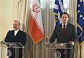 Επίσκεψη ΥΠΕΞ Ιράν κ. M. Mottaki στην Ελλάδα - Visit of Iranian FM M. Mottaki to Greece (5238010132).jpg