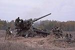 """Бойові стрільби артилерійських підрозділів на полігоні """"Дівички"""" (30598636211).jpg"""