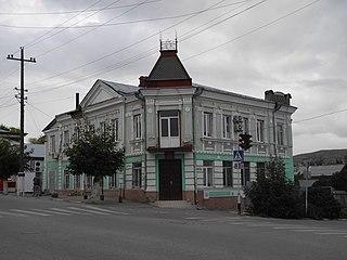 Volsk Town in Saratov Oblast, Russia