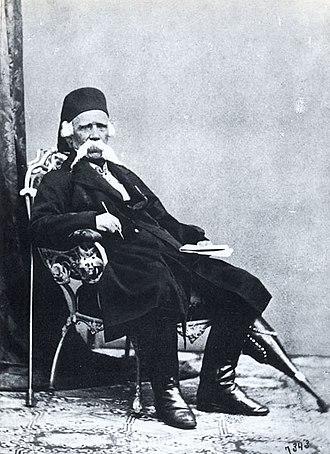 Serbian Revival - Image: Вук Стефановић Караџић.око 1860