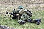 Демонстрация стрельбы из пулеметов ПКП Печенег - 4-й гвардейской Кантемировской танковой дивизии 02.jpg