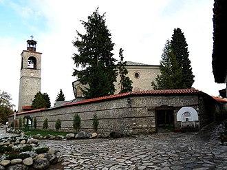 Bansko - View of Sveta Troitsa church