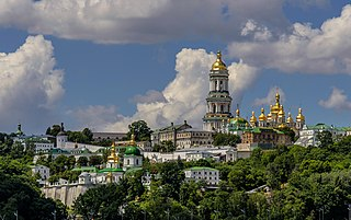historic Orthodox Christian monastery in Kyiv