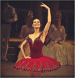 """Мария Александрова в балете"""" Дон Кихот"""".   jpg"""
