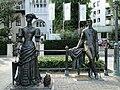 Памятник Антону Павловичу Чехову и Даме с собачкой на набережной Ялты - panoramio.jpg