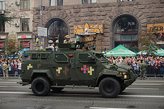 Armed Forces of Ukraine - KRAZ Spartan