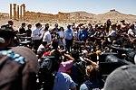 Работа зарубежных СМИ в городе Пальмире во время концерта «С молитвой о Пальмире» (1).jpg