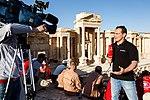 Работа зарубежных СМИ в городе Пальмире во время концерта «С молитвой о Пальмире» (5).jpg