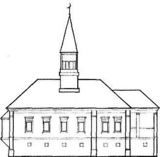Tatar mosque - Image: Рисунок соборной мечети 1876 г