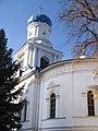 Трапезна з Покровською церквою і дзвіницею. Святогірський Успенський монастир 2.JPG