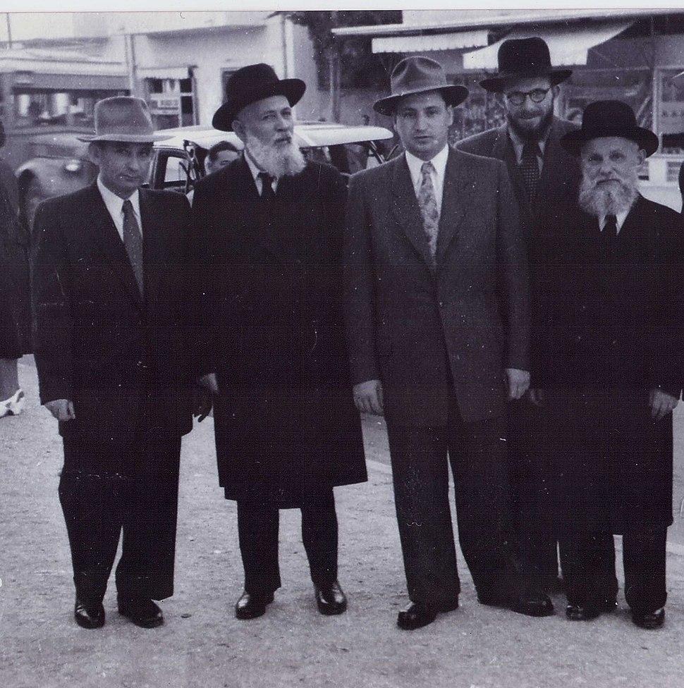 משפחת ברוכסון 1950