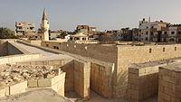 قلعة رشيد وتعتبر من اهم الاماكن الاثرية حيث وجد فيها حجر رشيد مفتاح حل لغز الكتابة المصرية القديمة.JPG
